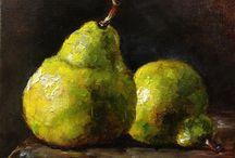 Still Life paintings- fruit / by Linda Spang