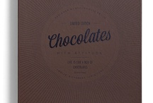 Chocolate and packaging / Shared moodboard for image and packaging inspiration / by Phil Draper