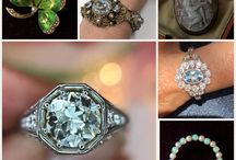 Vintage Ring Inspirations / Vintage ring inspirations! Antique ring designs that are perfect inspiration for your own vintage inspired engagement ring.