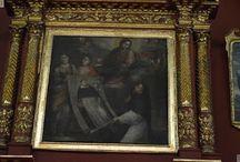 Gregorio Vásquez de Arce y Ceballos / EL PADRE DE LA PINTURA EN COLOMBIA. (1638-1711). Gregorio Vásquez Arce y Ceballos ha sido considerado como el mejor pintor de la colonia en toda la América Española durante el siglo XVII. Nace el 9 de mayo de 1638 en Santafé de Bogotá, Colombia, hijo de Bartolomé Vásquez y María Ceballos, Estudió en el Colegio Seminario de San Bartolomé, y luego en el Colegio Gaspar Núñez de los padres dominicanos. Sus primeras lecciones de pintura las recibió en el taller de los Figueroa.