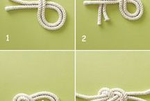 Nautical knots / węzły żeglarskie