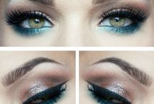 Makeup green eyes / Green eyes