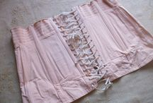 Vintage French Nightdress & Lingerie / Antique and vintage French nightwear, chemise, bloomers, slips, nightdress, corsets, lace and broderie anglais