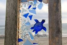 sea glass picture