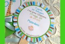 """LOLLIPOP INVITI ♥ LOLLIPOP INVITATIONS / INVITI COMPLEANNO, BATTESIMO """"LOLLIPOP"""" Lollipop invitations (Baptism, birthday ....)"""
