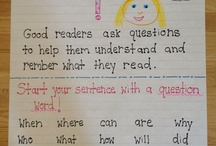 Language Arts: Ask/Answer Questions / This boards contains pins about the reading strategy, Asking & Answering Questions.