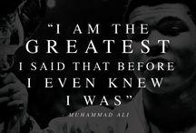 Muhammad Ali Quotes / Muhammad Ali Inspiring Quotes