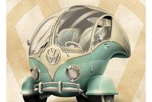 auto art / by Barbara McQuiddy