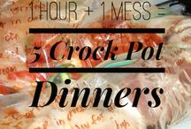 Crock pot freezer meals / Crock pot freezer meals to check out and try