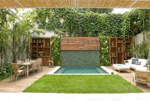 zahrada a bazen
