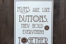 Mother's Day / Cute gifts for mums, mothers, grandmothers, nan's , grandmas