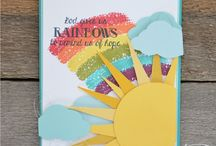 Stampin' Up!- Over the Rainbow