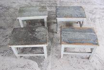 Tische und Stuehle