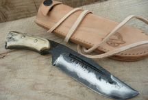 bushcraft leatherwork