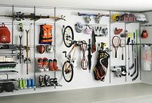 Storage and garage / Elfa is offering flexible interior products and made to measure sliding doors.