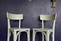 chaise, table et déco côté cuisine