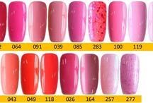Q1T Professional UV nail polish- Pink shades