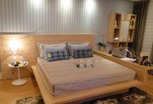 Dormitório Casal / Dormitórios de casal interessantes que inspiram nossos projetos..