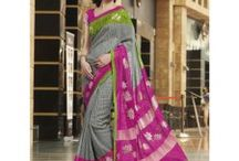 Sarees online shopping / Exclusive collection of silk sarees, georgette sarees, bolly