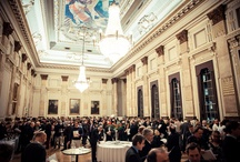 Berry Bros. & Rudd Tastings / We host several wine tastings every year, from the latest En Primeur tastings to Christmas Portfolios. This board comprises pictures of our latest tastings in the resplendent Great Hall at One Great George Street in Westminster.