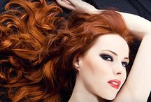 Red Hair Obsessed / Love red hair for models and wish I could die my hair red to match my personality :)