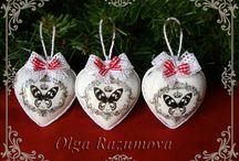 CHRISTMAS /  ёлочные игрушки и другие подарки