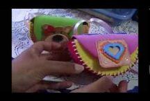 dekorgumi táska videó