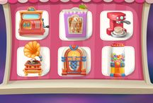 bakery game ui