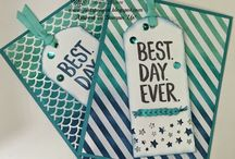 Stampin up Best a Day Ever