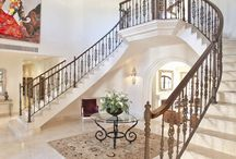 Spectacular Staircases / A selection of images of spectacular or unusual staircases taken from properties that are for sale on the Crystal Shore Properties, Marbella, website.