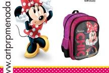 Minnie Mouse School Bag - Minnie Mouse Plecaki