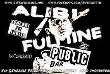 ALIBI FILMINE LIVE / Swing NOIR alla BAITA Del DIAMANTE