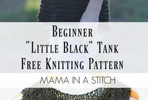 My new addiction = knitting