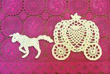 Apliques Crochet -Tricot