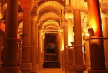 Cistern of Binbirdirek or Philoxenos Istanbul