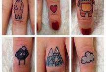 Мини татуировки
