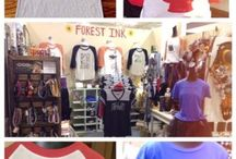 Forest Ink / T-shirts, Headbands, Scarves, Clothing & Seasonal Located in Suite 103 Coit.