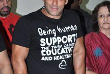 Spotted: Salman Khan in Being Human Clothing