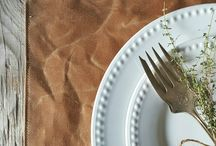Setting the Thanksgiving Table / For more unique items to spruce up your table this Thanksgiving follow the link below!  http://oneofakindonlineshop.com/thanksgiving.html