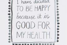 Positive mind, positive life ♥