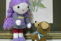 Crochet dolls and toys