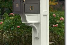 Mailboxes / by Pamela (AllHoney)
