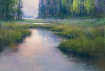 Artist: Richard McKinley / Pastel paintings