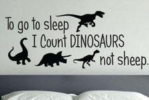Myles dinosaurs