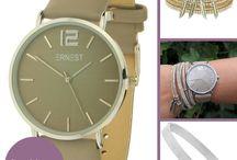 Horloge trends / De trends onder de horloges, van o.a. Ernest