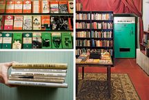 Where Books Live / Bookstores and libraries we'd love to visit.