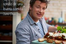 Inspiración sobre comida y vida saludable / Frases de inspiración y citas célebres sobre la comida, la cocina y vida saludable