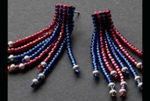 GED Beadweaving / Beadwoven jewellery mae by yours truly