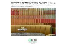 "TERMINUS ""PORTO POJANA"" RESTAURANT - LAPIS COLLECTION / TERMINUS ""PORTO POJANA"" RESTAURANT - Switzerland Project: STUDIO DI ARCHITETTURA GAFFURINI PAGANI TRESOLDI associated with architect Filippo Ferrari Tiles:Lapis collection - Ceramica Senio  Imagination or reality? Have you ever imagined to tile a whole public space with 3 d ceramics? Don't you wish to touch the walls?  #Tiles #Portopojana #3Dtiles #Interiordesign #Customtiles #Ceramic #Tiles #Handmade GPT associati Porto Pojana Ristorante Terminus"
