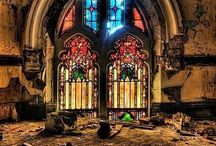 The art of windows / Stain glass windows